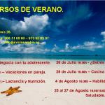calendario cursos de verano